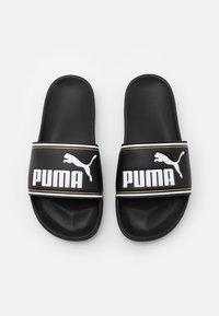 Puma - LEADCAT FTR JR - Muiltjes - black/white - 3