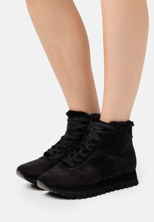 FLOW - High-top trainers - schwarz