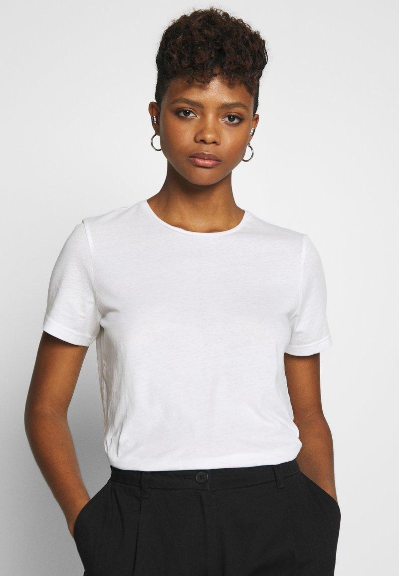 Weekday - MATILDA - T-shirts - white