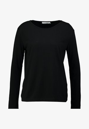 NOBEL - Bluzka z długim rękawem - black