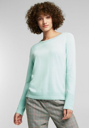 SWEATERS CREW NECK - Pullover - light turquoise