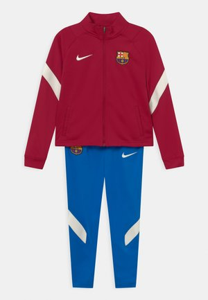 FC BARCELONA SET UNISEX - Chándal - noble red/soar/pale ivory
