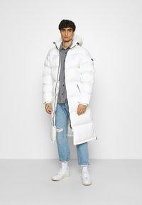 Schott - MAX UNISEX - Winter coat - white - 1