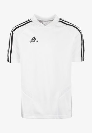 TIRO 19 TRAININGS - Print T-shirt - white/black