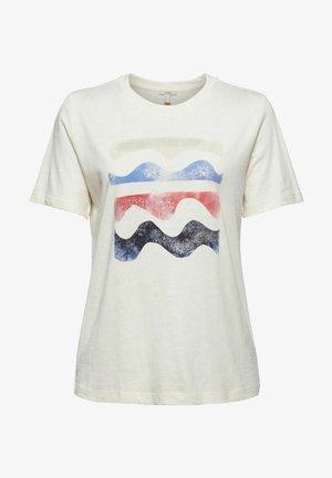 REGULAR FIT - T-shirt imprimé - off white
