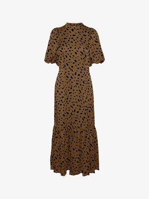 Długa sukienka - beech