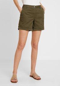 Anna Field - Shorts - olive - 0