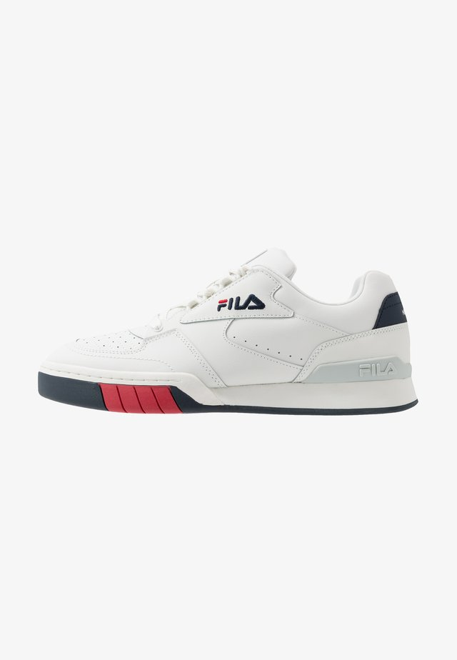 NETPOINT - Sneakersy niskie - white/navy/red