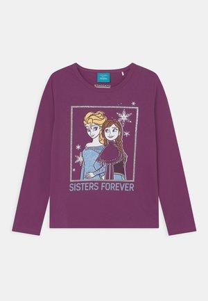 DISNEY FROZEN ELSA UND ANNA - Langærmede T-shirts - aubergine