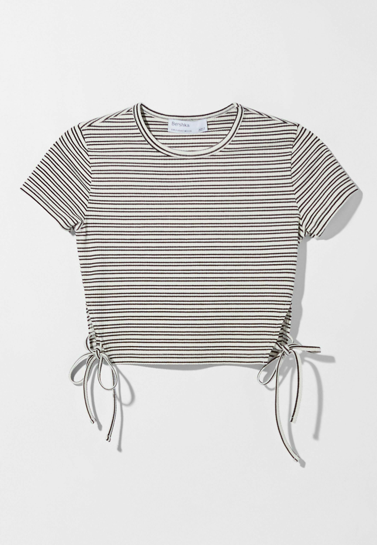 Damen MIT SCHNÜRUNG - T-Shirt print