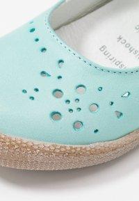 Primigi - Ankle strap ballet pumps - aquamarina - 2