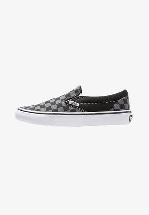 CLASSIC SLIP-ON - Półbuty wsuwane - black/pewter