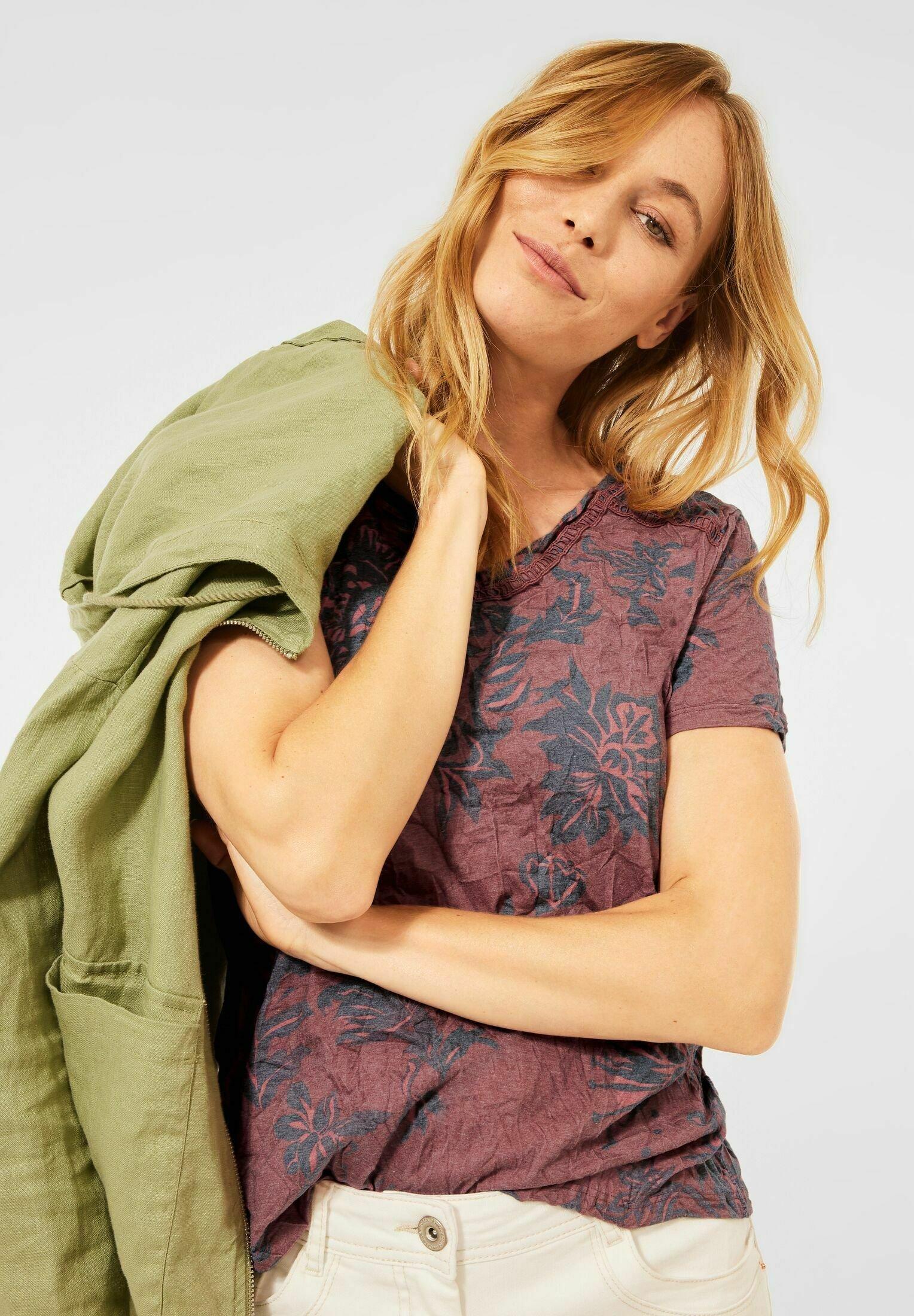 Damen MIT CRASH OPTIK - T-Shirt print