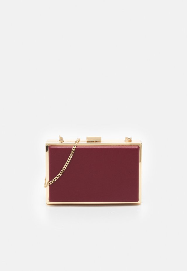 JANE FRAME BOX - Pochette - berry