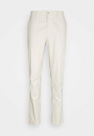 CROSS PANT - Kalhoty - beige