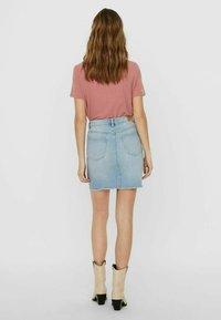 Vero Moda - Pencil skirt - light blue denim - 2