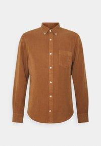 MANZA SLIM - Shirt - canela brown