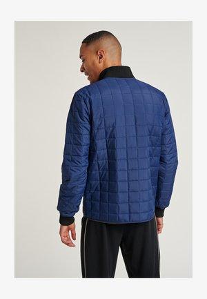 Training jacket - medieval blue