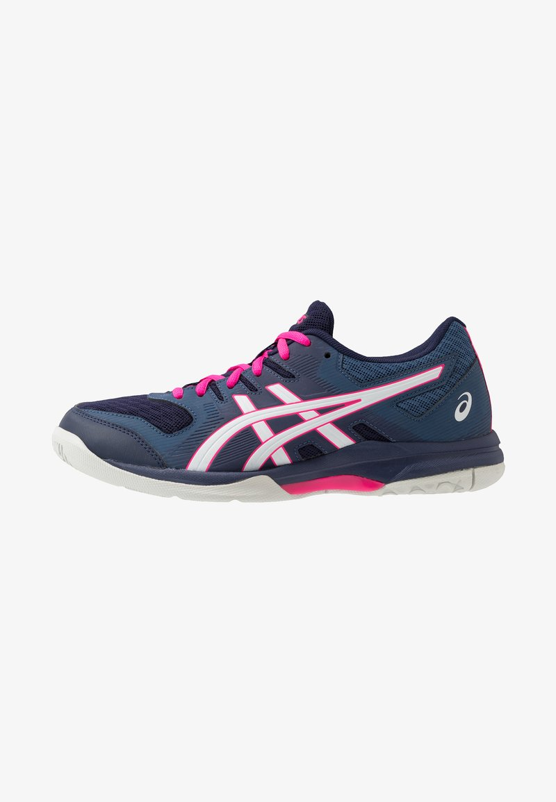 ASICS - GEL ROCKET 9 - Volleyball shoes - peacoat/white