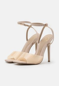 Missguided - CLEAR DETAIL ANKLE STRAP - Sandals - cream - 2