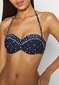 LASCANA - Bikini top - navy/white - 4