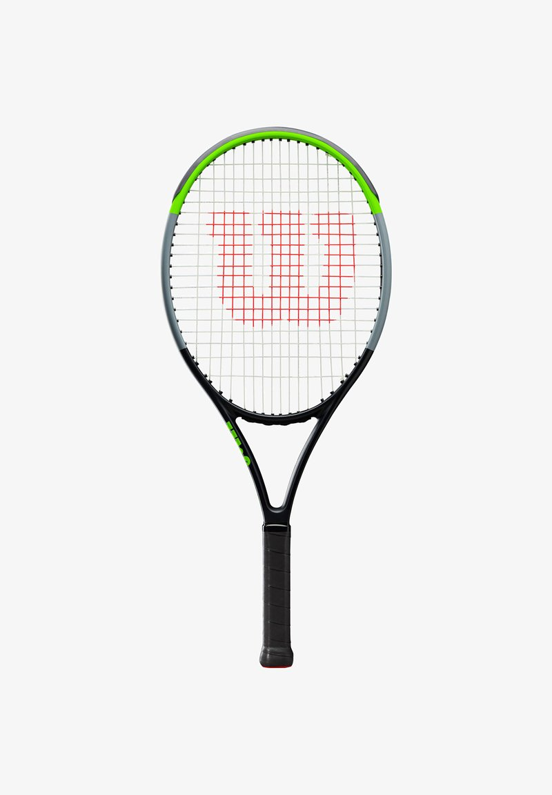 Wilson - BLADE - Tennis racket - schwarz/grün (702)