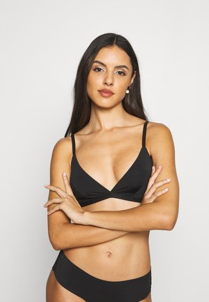 EDITH BRA - Triangle bra - black dark