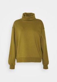 Vero Moda - VMMERCY ROLL NECK - Sweatshirt - fir green - 4