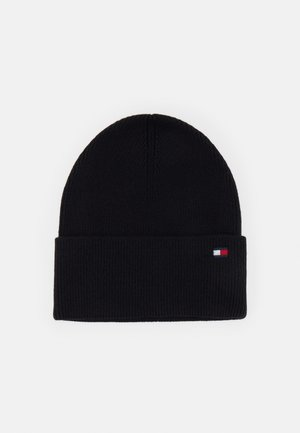 ESSENTIAL BEANIE - Beanie - black