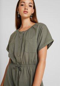JDY - JDYPERNILLE DRESS - Jerseyklänning - kalamata - 5
