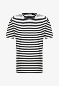 Only & Sons - ONSJAMIE LIFE SS STRIPE REG TEE NOO - Print T-shirt - dark navy - 5