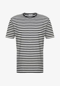 ONSJAMIE LIFE SS STRIPE REG TEE NOO - Print T-shirt - dark navy