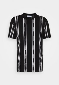Calvin Klein - VERTICAL LOGO STRIPE - Printtipaita - black - 5