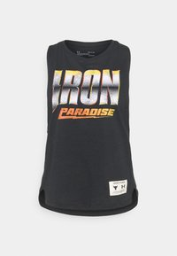 Under Armour - PROJECT ROCK IRON TANK - Top - black - 3