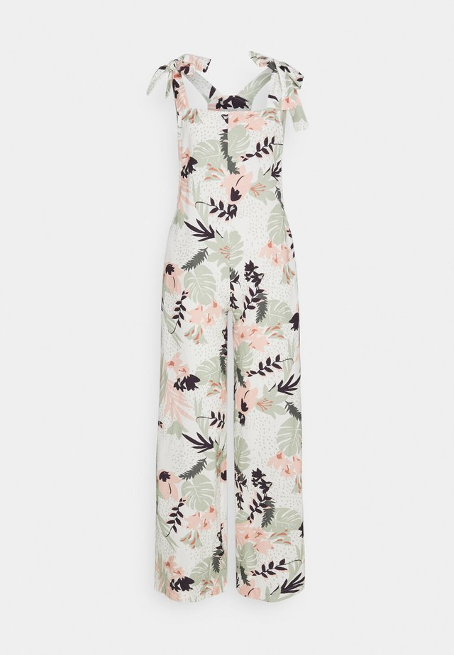 SANTA BARBARA TIE UP - Tuta jumpsuit - white