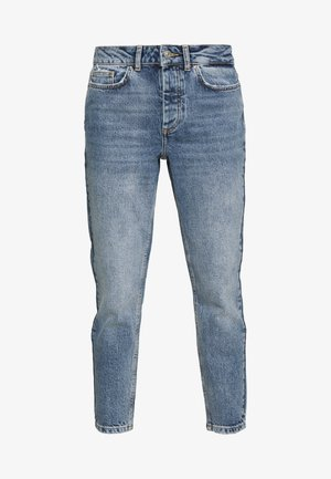 PCCARA SLIM PETIT - Slim fit jeans - light blue denim