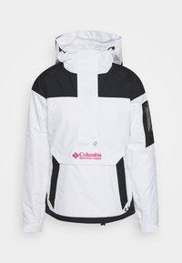 Columbia - CHALLENGER - Winter jacket - white/black - 5