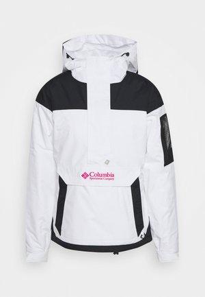 CHALLENGER - Winterjacke - white/black
