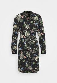 Vero Moda - VMSAGA - Košilové šaty - black/cassandra - 3
