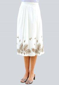 Alba Moda - A-line skirt - weiß haselnuss - 0