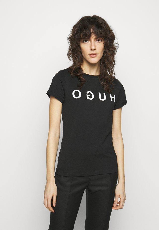 THE TEE - T-shirt print - black