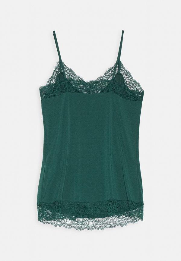 Vero Moda VMALBERTA SINGLET - Top - ponderosa pine Kolor jednolity Odzież Damska AAFP TF 8