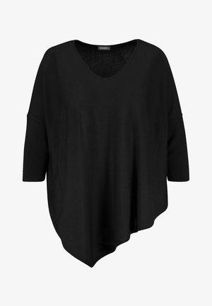 MIT ASYMMETRI - Pullover - black