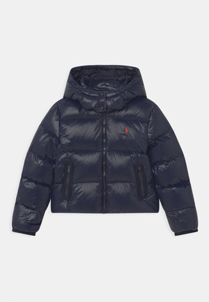CHANNEL OUTERWEAR - Down jacket - collection navy