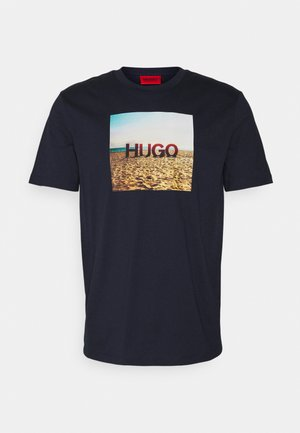 DOLDPLAY - T-shirt con stampa - dark blue