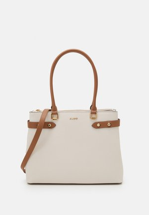 TRACKANDFIELD - Tote bag - bone/tan combo
