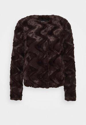 VMCURL SHORTJACKET - Chaqueta de entretiempo - dark brown