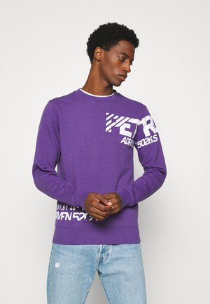 SUSTAINABILITY - Sweatshirt - darke grape