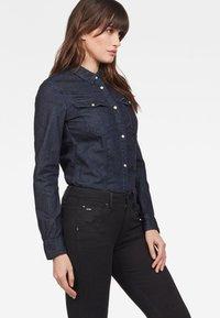 G-Star - 3301 SHIRT - Button-down blouse - blue denim - 2