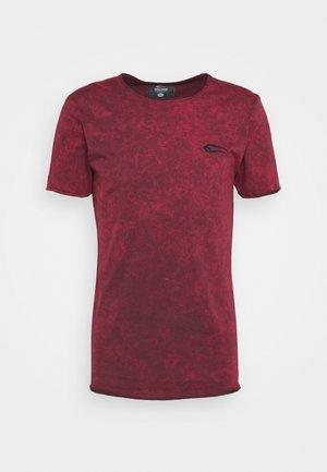 MATRIX - Camiseta estampada - bordeaux